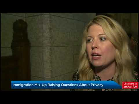 N B  woman furious after Canadian immigration officials disclose her banking info