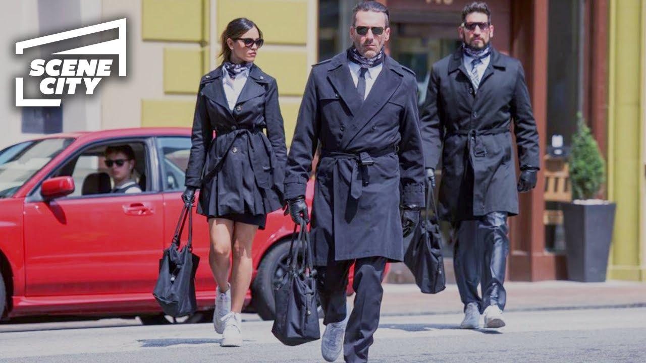 Download Baby Driver: Bank Heist (MOVIE SCENE)
