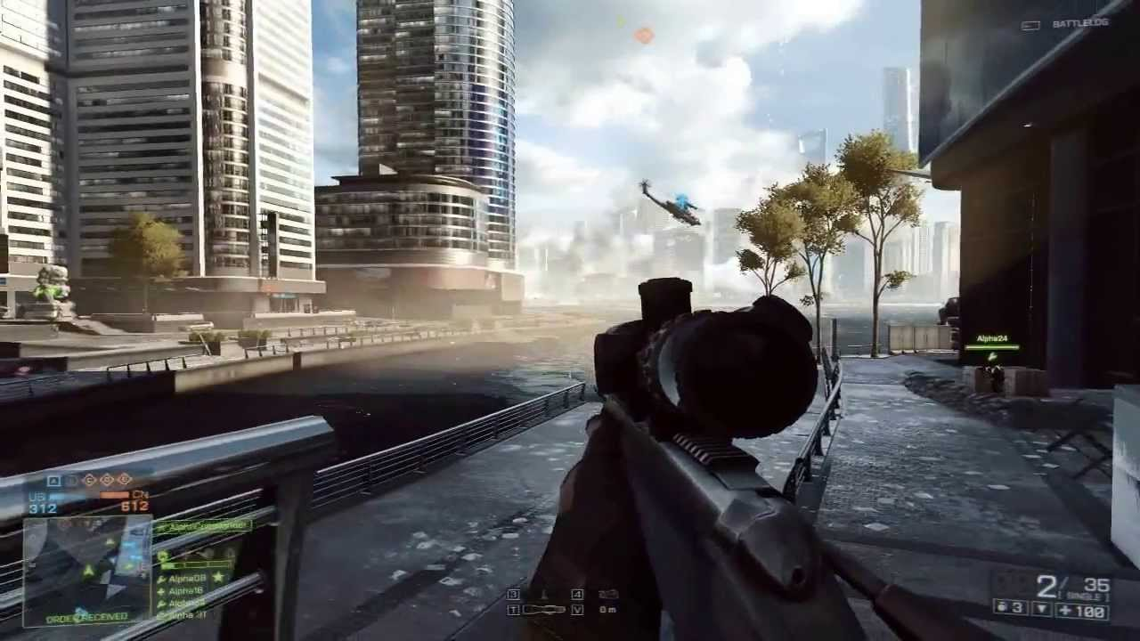 Xbox One Battlefield 4 Gameplay Xbox One  Battlefield 4