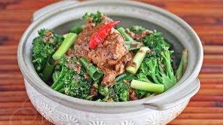 Thai Peanut Coconut Curry Chicken (gai Pad Nam Tua)