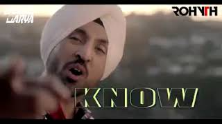 Diljit Dosanjh #DO #YOU #KNOW  REMIXED BY DJ Saahil Arya VFX BY Rohit Chauhan