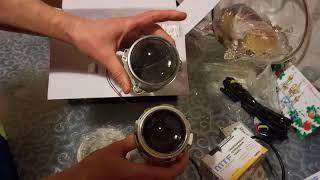 видео Ксенон MTF-Light Slim Line H1 4300k (35 Вт)