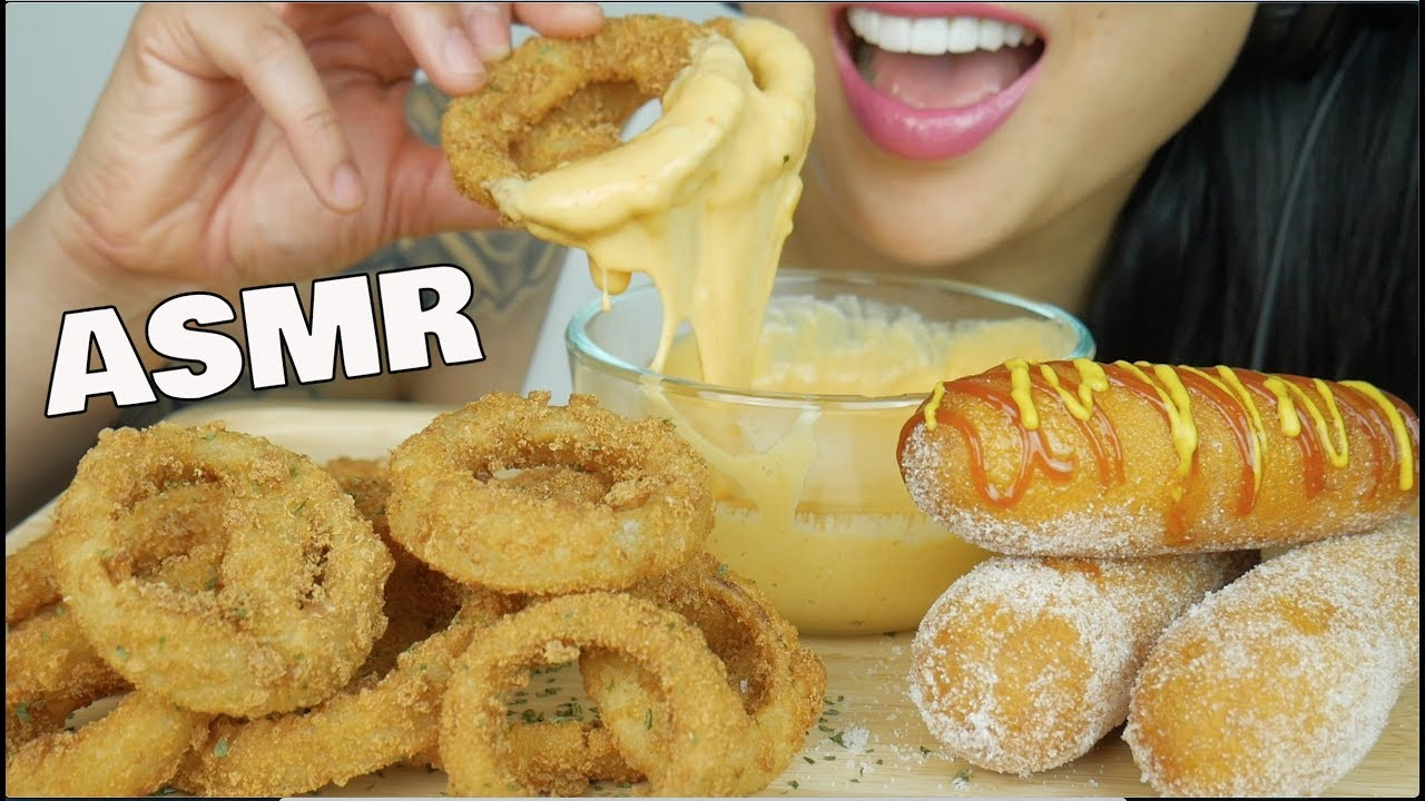 Asmr Onion Rings Corndogs With Cheese Sauce Extreme Crunchy Eating Sounds No Talking Sas Asmr Youtube Asmr hot cheetos king crab + onion rings + cheese sauce eating sounds no talking sas asmr. asmr onion rings corndogs with cheese sauce extreme crunchy eating sounds no talking sas asmr