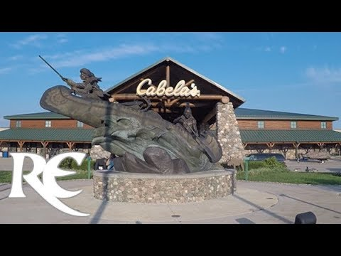 WORLD'S LARGEST CABELA'S: High Temple of Taxidermy - Hamburg, PA