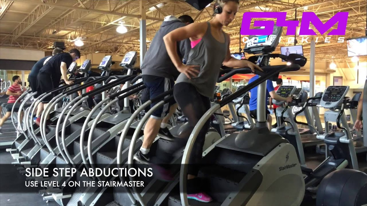GYM QUICKIES   CARDIO STAIRMASTER WORKOUT