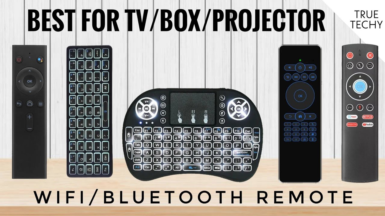 Best Remote For Android TV/ Box/ Projector, Voice Remote For Android Tv Box, Keyboard+Smart Remote
