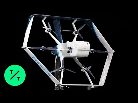 Deuce - Watch: Check Out Amazon's New Delivery Drone