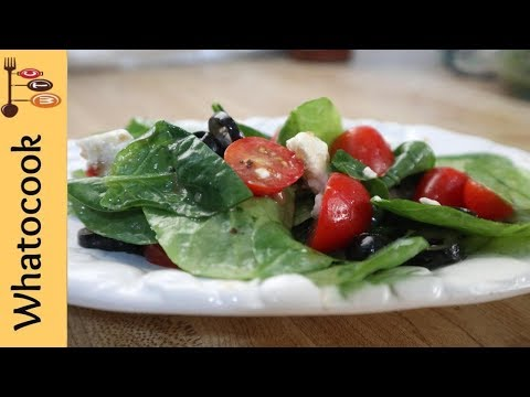My Favorite Spinach Salad With Feta Cheese And Black Olives Recipe - Inspired By Jjac'Keee KooKz