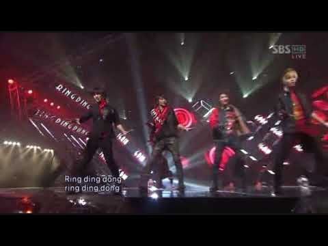 [HD] SHINee & Leeteuk - Ring Ding Dong Live! [081109]
