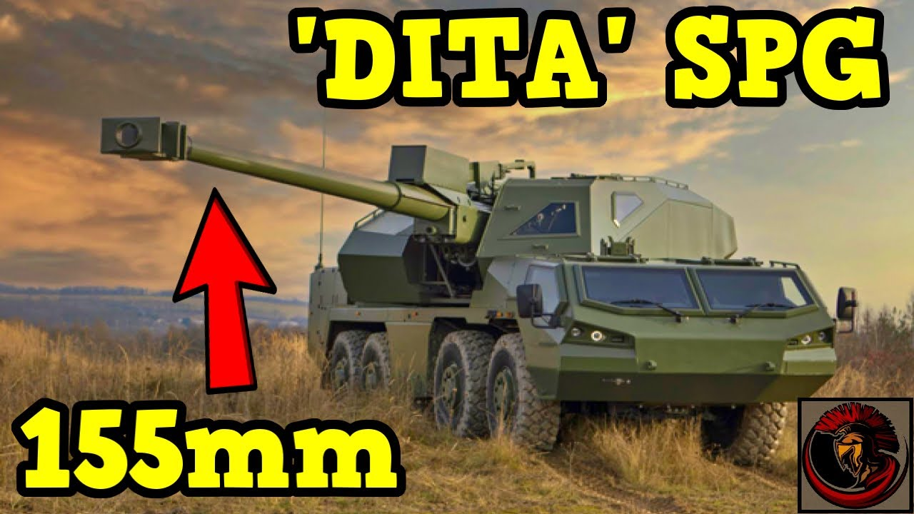 Excalibur Army 'DITA' 155mm Self-Propelled Howitzer | Modern Battlefield Technology