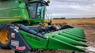Harvesting on ROUGH FROZEN GROUND