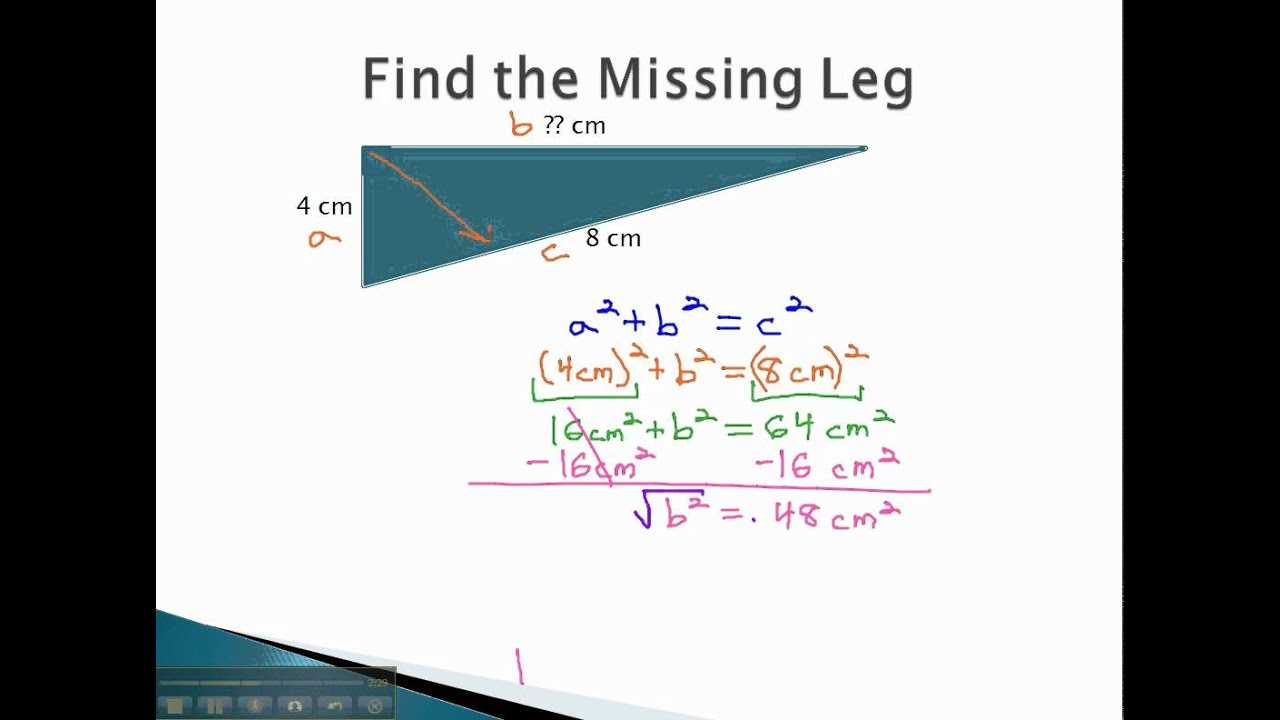 How to find the leg 6