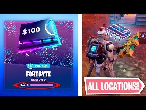 ALL FORTNITE FORTBYTES LOCATIONS! - COMPLETE GUIDE (NEW)