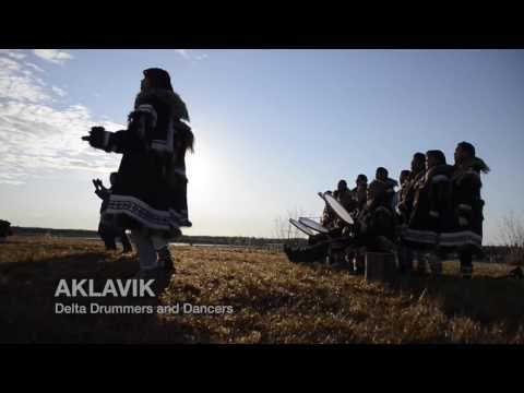The Aklavik Delta Drummers and Dancers - Inuvialuit HD Drum Dance Series