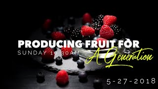 """Producing Fruit For A Generation""  Alice Garza"