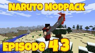 Minecraft Naruto Modpack Episode 43 || Lightning Style : Kirin!