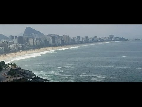 City Tour of Rio de Janeiro, Brazil (HD). Driving and Activities.