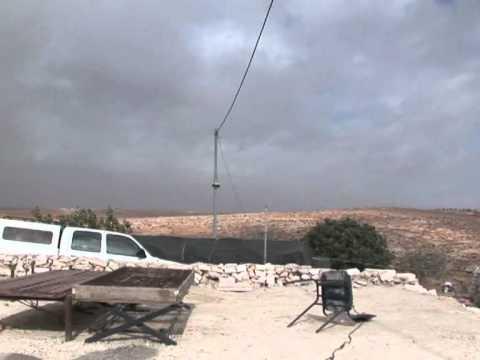 West Bank solar panels risk demolition