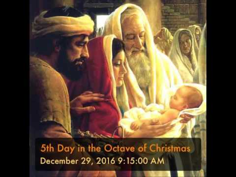 Holy Rosary - 5th Day in the Octave of Christmas - YouTube
