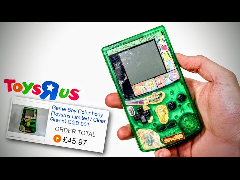 "rare-toys""r""us-gameboy-color-refurb!"