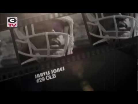 Football: Game Time _ Jarvis Jones #29 OLB: 2012