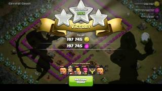 Clash of Clans Single Player - Crystal Crust