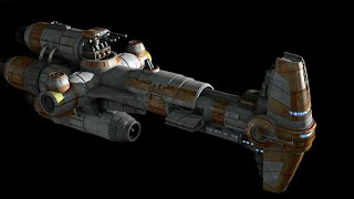 lego star wars (грузовой корабль повстанцев/ Rebel cargo ship)