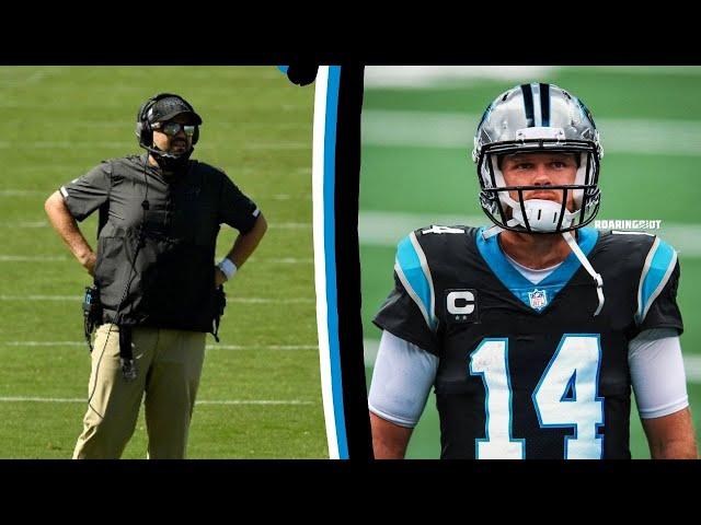 Matt Rhule on New Panthers QB Sam Darnold