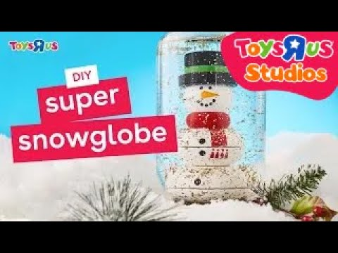 Super Snow Globe – a Holiday DIY for the Whole Family