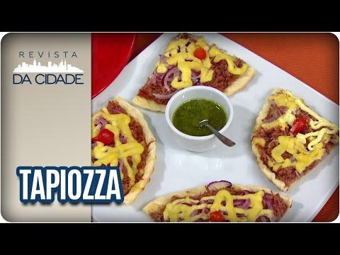 Receita de Pizza de Tapioca - Revista da Cidade (04/05/2017)