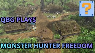 QBG Plays Monster Hunter Freedom! The Suffering Continues!