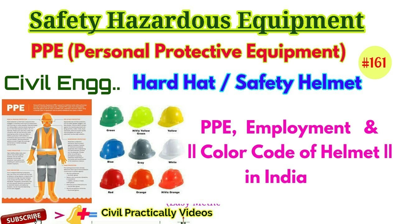 are there international color codes for safety helmets  [ 1280 x 720 Pixel ]