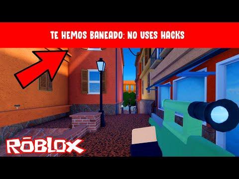 Hacks Para Banear En Roblox Me Han Baneado De Arsenal Roblox Youtube