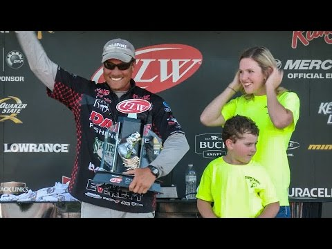 Walmart FLW Tour Invitational | Lake Norman | Winning Moment