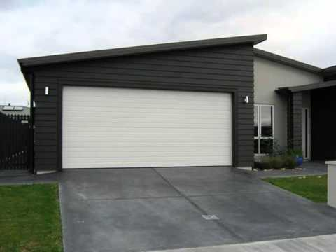 Modern Insulated Garage Doors - YouTube