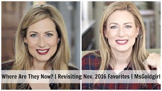 Where Are They Now?   Revisiting Nov. 2016 Favorites   MsGoldgirl thumbnail