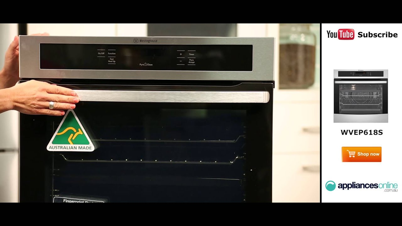 Uncategorized Westinghouse Kitchen Appliances westinghouse electrical wall oven wvep618s reviewed by expert appliances online youtube