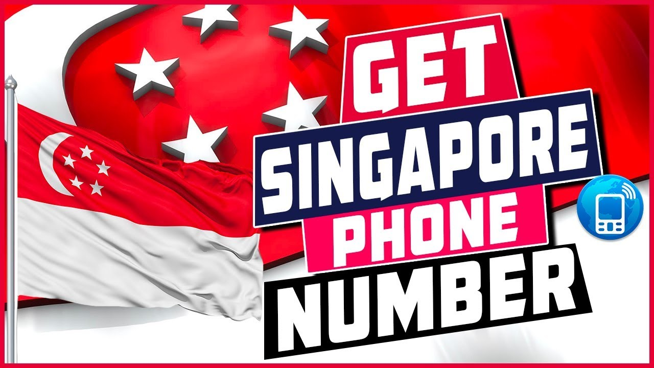 How To Get a Singapore Virtual Phone Number - YouTube