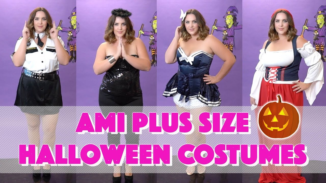 Great Easy Last Minute Plus Size Halloween Costumes From AMIClubwear