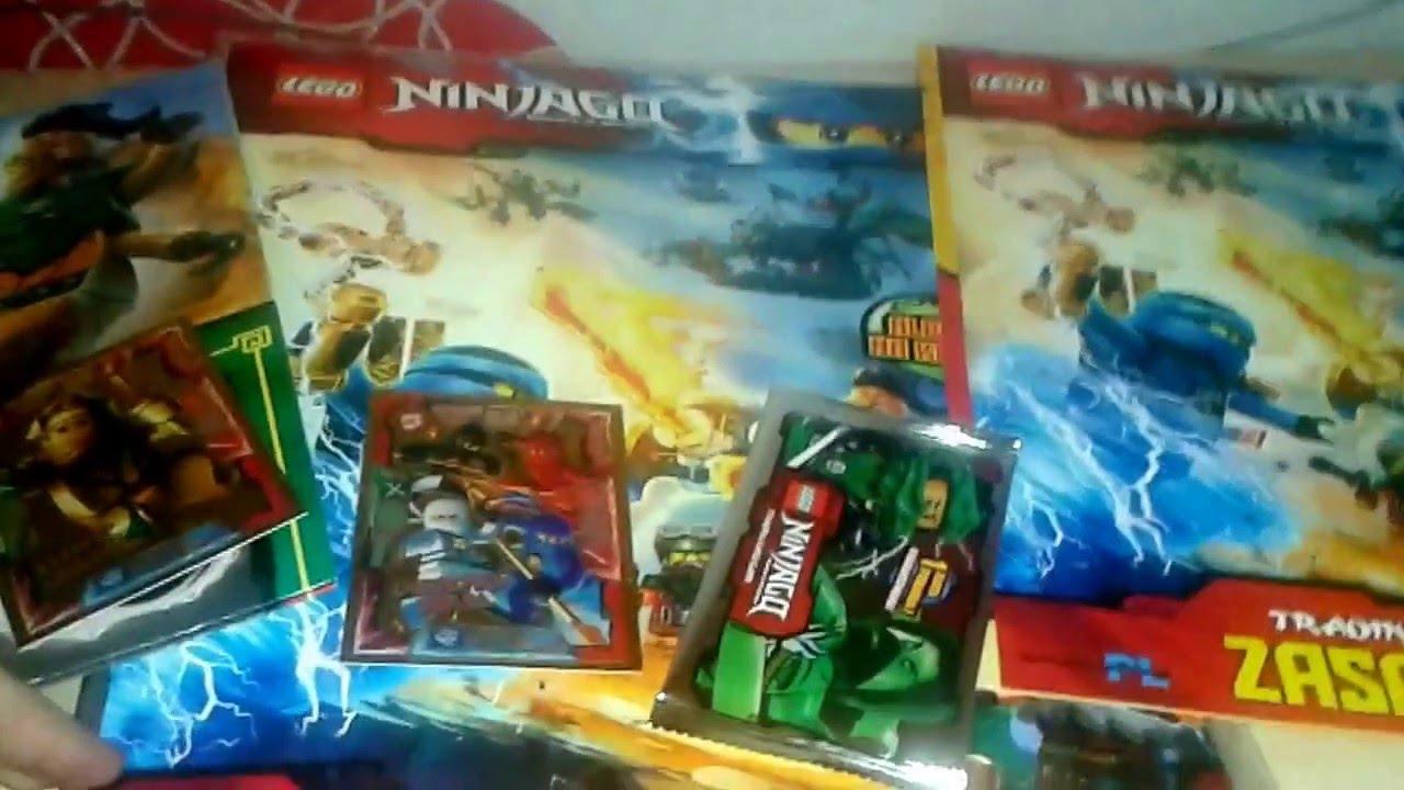 Opening Albumu Na Karty Lego Ninjago Youtube