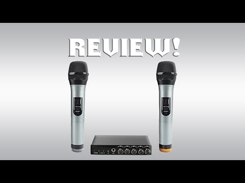 ARCHEER VHF Bluetooth Microphone System Review!