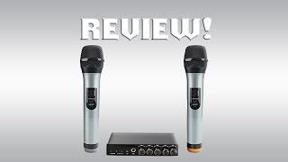 ARCHEER VHF Bluetooth Microphone System Review