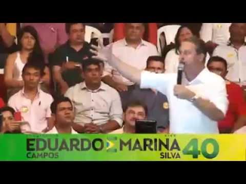 Eduardo Campos e Marina Silva  (UM DISCURSO EMOCIONANTE!!)