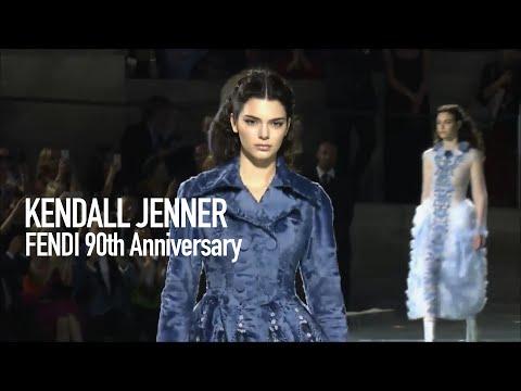KENDALL JENNER Backstage x FENDI 90th Anniversary ft Karl Lagerfeld in ROME  | MODTV