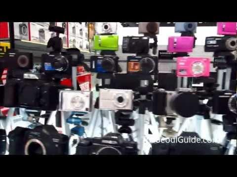 Yongsan Electronics Market in Seoul, South Korea