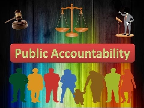 Maintaining the Accountability for the Public Essay Sample