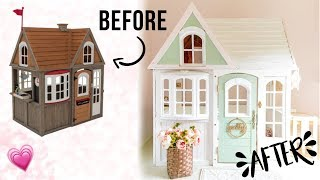 WHIMSICAL COSTCO PLAYHOUSE DIY HACK  | Royalty Soaps