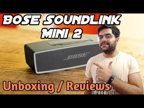 Bose SoundLink Mini II Bluetooth Speakers UNBOXING / Reviews / SoundTest !! 🔊🔊
