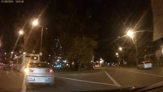 Prestigio RoadRunner 555 (ночь)