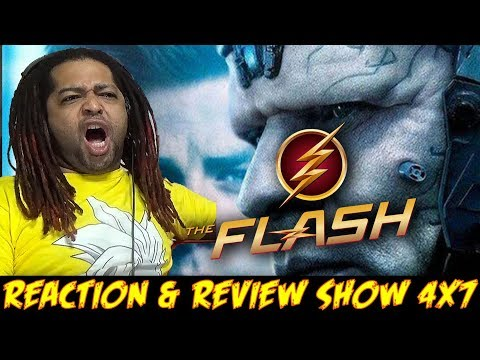 """The Flash Season 4 Episode 7 Reaction & Review Show (""""Therefore I AM"""")"""